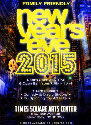 Times Scare Times Square New Years Eve 2015