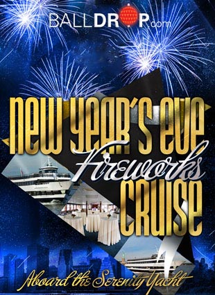 Times Square New Years Eve at Serenity Yacht | NYC New ...