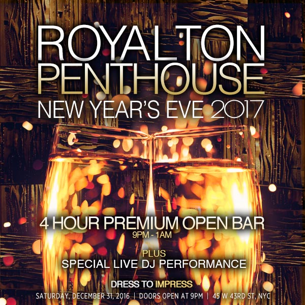 Royalton Hotel Nyc New Years Eve
