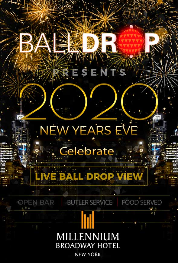 Times Square New Years Eve at Millennium Broadway Hotel NYC | NYC ...