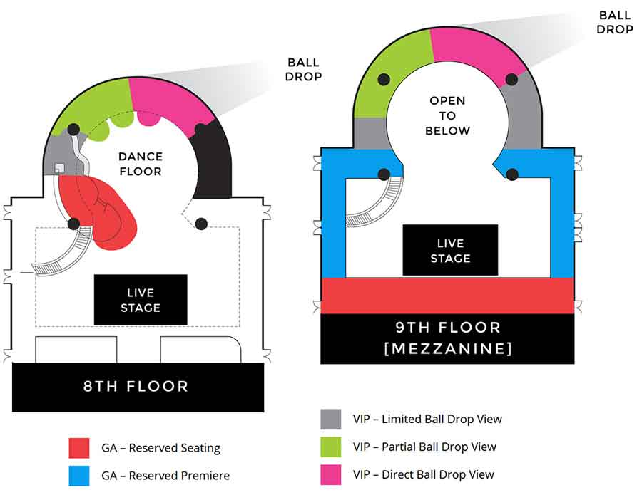 Marriott Marquis Times Square New Years Tickets