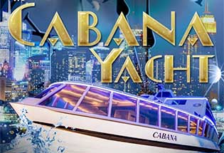 Cabana Party Yacht NYC