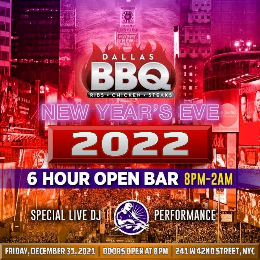 Dallas BBQ Times Square New Years Eve 2019