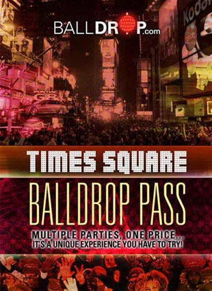BallDrop Pass Times Square New Years Eve 2020