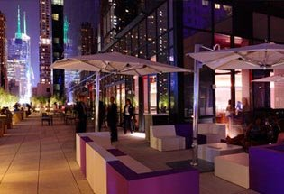 Times Square New Years Eve At Hudson Terrace Nyc New