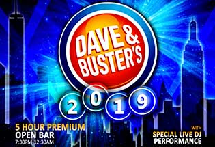 Dave and Busters Times Square