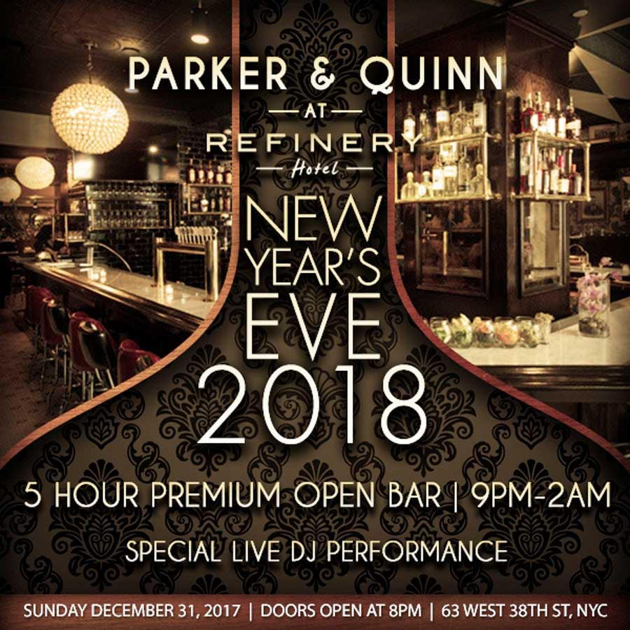 Parker and Quinn NYC Times Square New Years Eve 2018