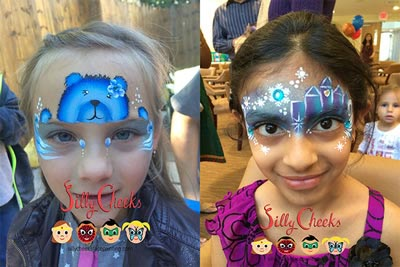 Face Painting New Years Eve Party